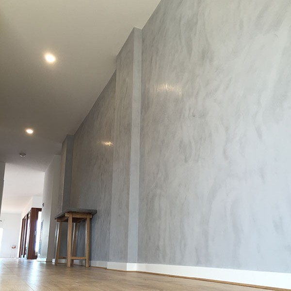 MAKING AN ENTRANCE – CONCRETE LOOK JAPANESE PLASTER