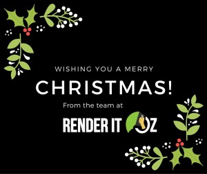 Merry Christmas from Render It Oz
