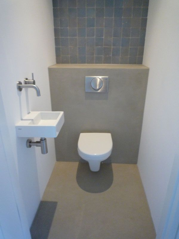 Concrete design ideas for your bathroom introducing some of the best tadelakt looks for the - Toiletgrijs ...
