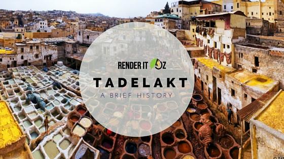 tadelakt history - blog graphic