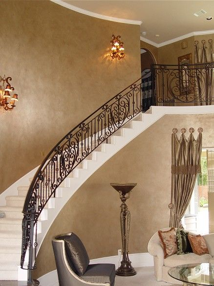 Venetian Wall Finishes : Inspiring polished venetian plaster wall finishes from