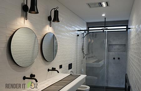 A DREAM BATHROOM DESIGN WITH THE LATEST BATHROOM TRENDS