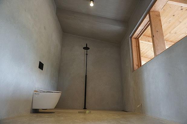 Black Polished Concrete Floor