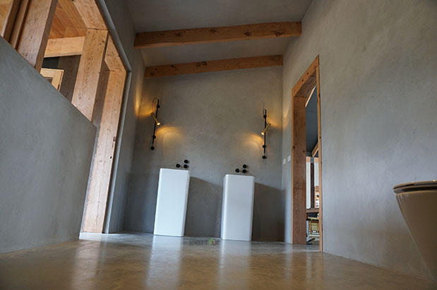 UNIQUE FLOOR TO CEILING BATHROOM PROJECT – TADELAKT